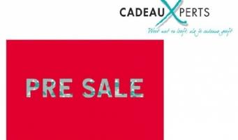 Klasse & CadeauXperts.nl houden een Pre-Sale