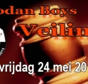 Veiling bij CVV de Jodan Boys