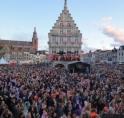 Afscheidstoespraak Koningin Beatrix live op de Markt in Gouda!