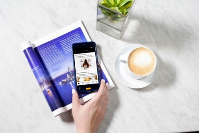 Ruim een kwart gasten maakt actief gebruik van de Handy