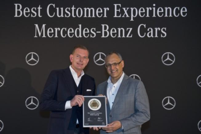 Mercedes-Benz Naaldwijk: gouden medaille voor klanttevredenheid