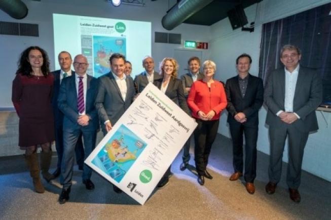 Leiden gaat nu echt van start met een aardgasvrije stad