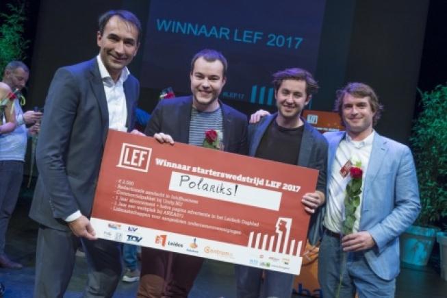 Polariks wint LEF 2017