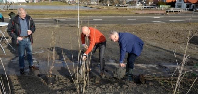 Unieke fijnstof absorberende planten geplant in Green Park Aalsmeer