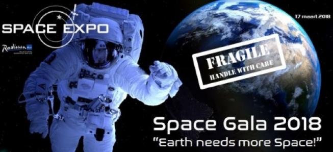 Nog enkele kaarten beschikbaar voor het Space Gala op 17 maart 2018